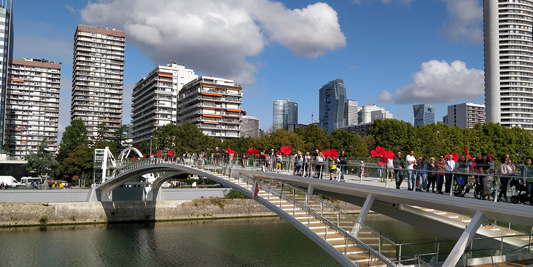 New François Coty's bridge